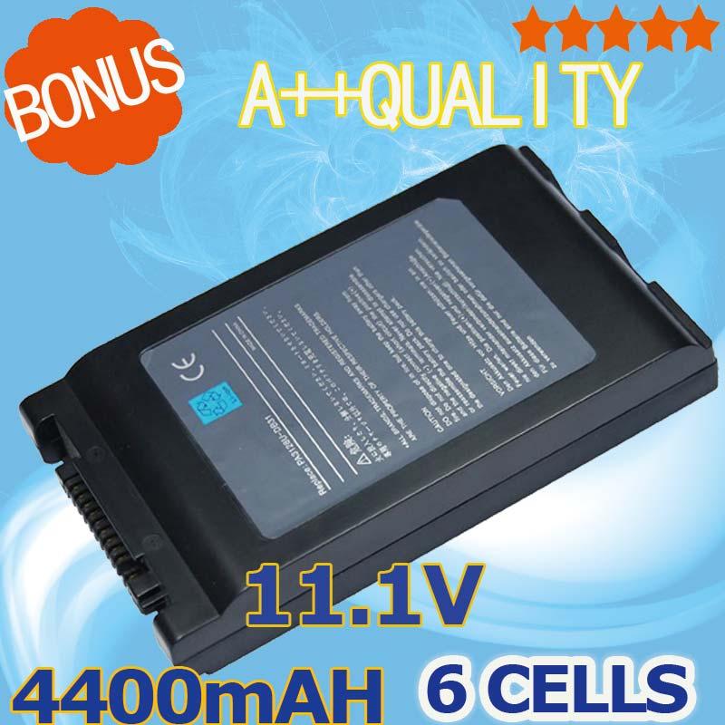 4400mah batería del ordenador portátil para Toshiba Satellite Pro 6000, 6050 de 6100 M750-10L R10 R15 R20 R25 Tecra M4 M7 TE2000 TE2100 M4-103 M7-118