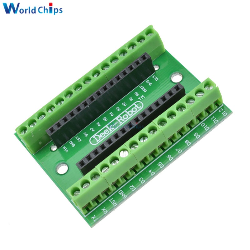 Плата расширения ATMEGA328P для Arduino, плата расширения для контроллера NANO V3.0 3,0, защитная плата для Arduino