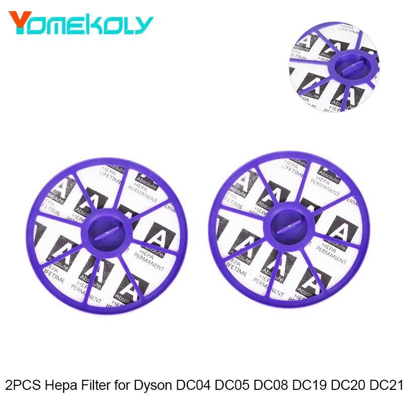 Hepa-Filter 2PCS Für Dyson Staubsauger DC19/DC20/DC21/DC29 Serie Pre Post Motor Teile