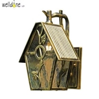 led water proof alluminum wall lamp for garden europea style good quality