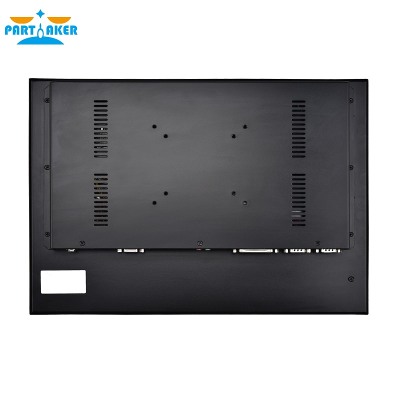 17 Inch LED Panel PC with 5 Wire Resistive Touch Screen Intel Core i5 4200U Windows 7/10/Linux Ubuntu enlarge
