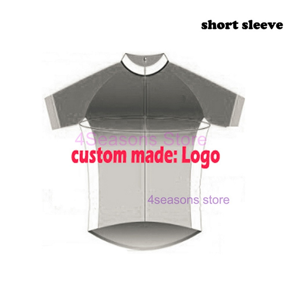 Hecho a medida: Logo ciclismo jersey equipo ciclismo ropa montaña downhill bicicleta manga larga Jersey de Ciclismo de secado rápido