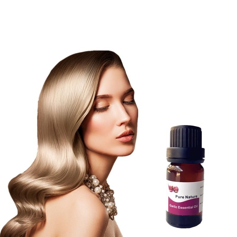 New Garlic Hair Care Essence Oil Prevention Hair Loss Effective Nourishes for Women Men Garlic Hair