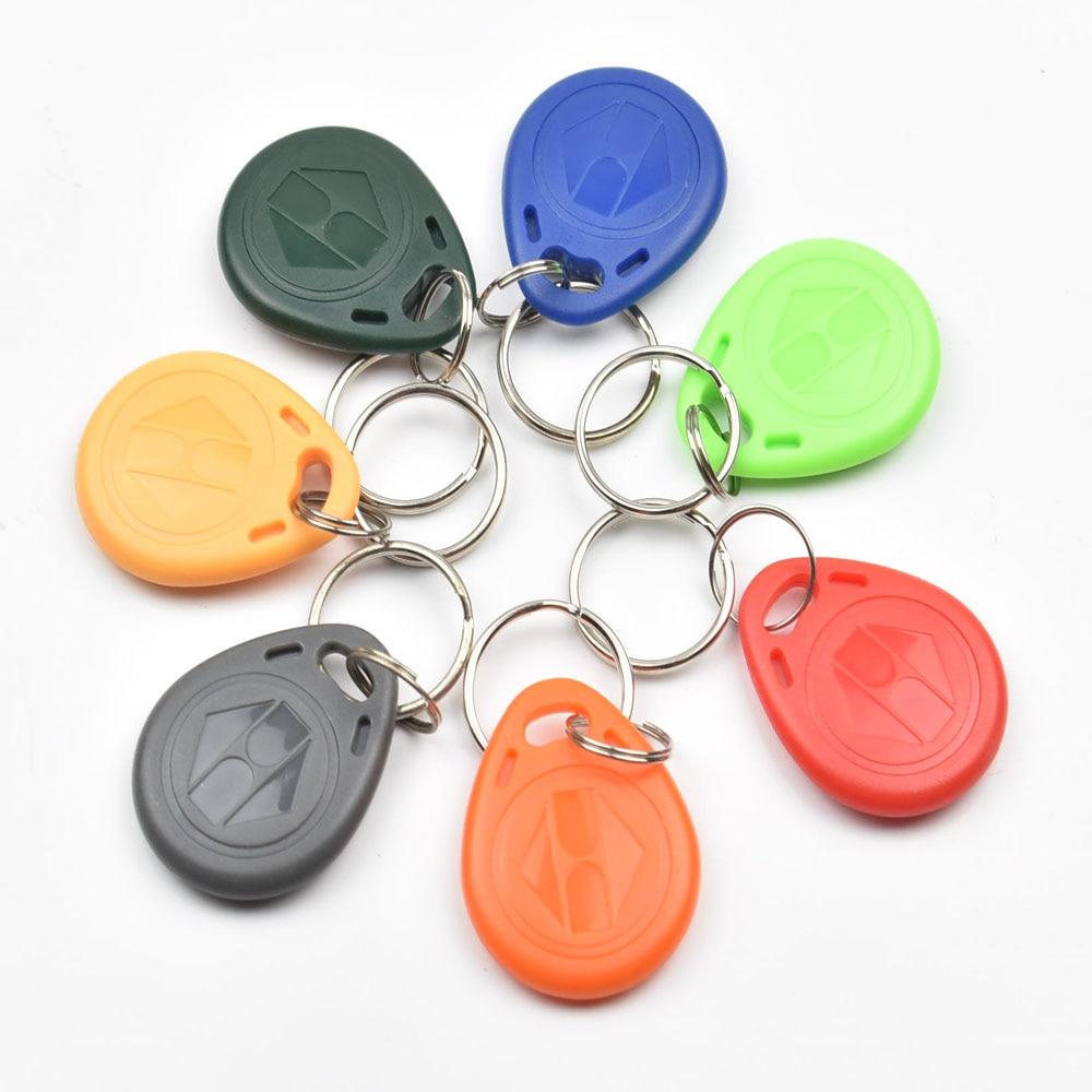 30pcs/bag RFID key fobs EM4305 125KHz proximity ABS key tags readable and writable copy duplicator tags access control
