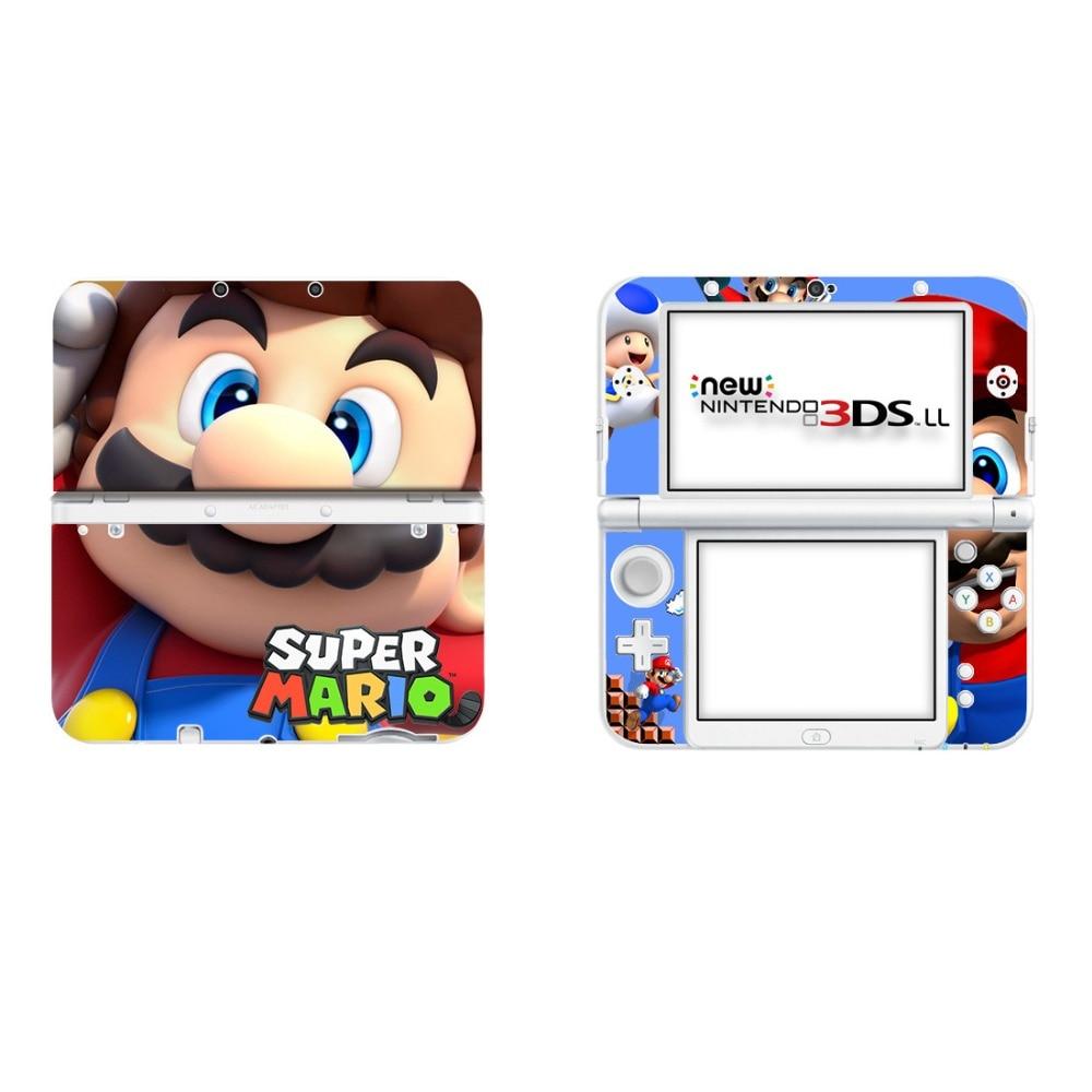 Виниловый чехол наклейка Кожа Наклейка для новых 3DS XL скины наклейки для новых 3DS LL виниловые наклейки протектор кожи