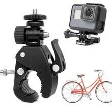 Action Kamera Sport 360 Grad VR Kamera Bike Montage Fahrrad Motorrad Lenker Clamp Halterung Halter Halterung für Gopro Hero