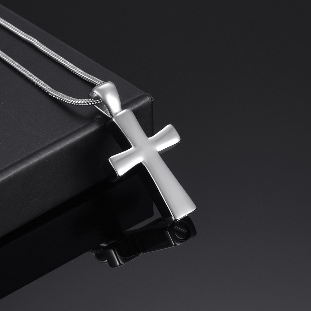 20 Inch Mens Cross Necklace