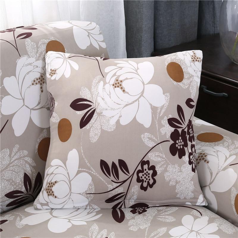 2 pieces 45*45cm Cushion cover match sofa pillowcases Cushion covers sofa covers slipcovers Couch covers sofa bedding set