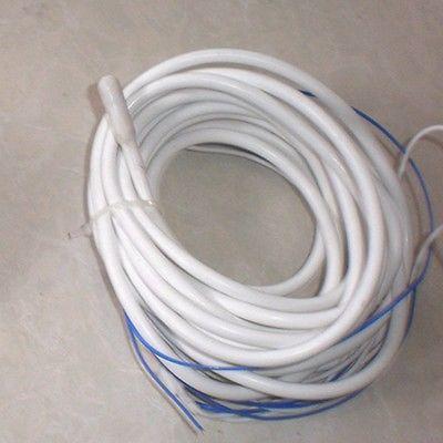 Alambre aislante de silicona impermeable de 1 metro 220-230V para descongelar cables eléctricos de tubo de drenaje
