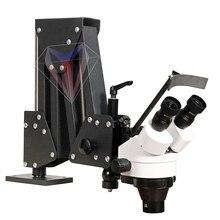 Microscope Flexible de Zoom de bras pour le réglage de réparation de diamant de pierre de bijoux