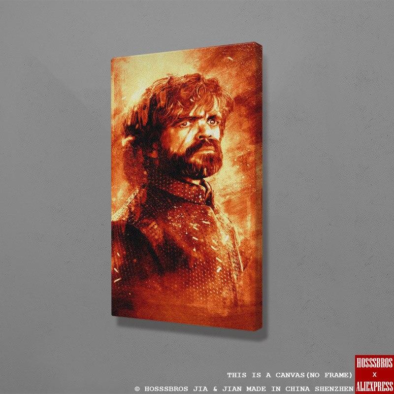 Tyrion Lannister gra o tron dostał plakat strona główna dzieci salon dekoracja sypialni plakat z nadrukiem obraz malarstwo ścienne płótno artystyczne