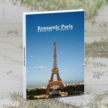 30 sheets/LOT een reis naar Romantische Parijs postkaart/Wenskaart/wish Card/Mode Gift
