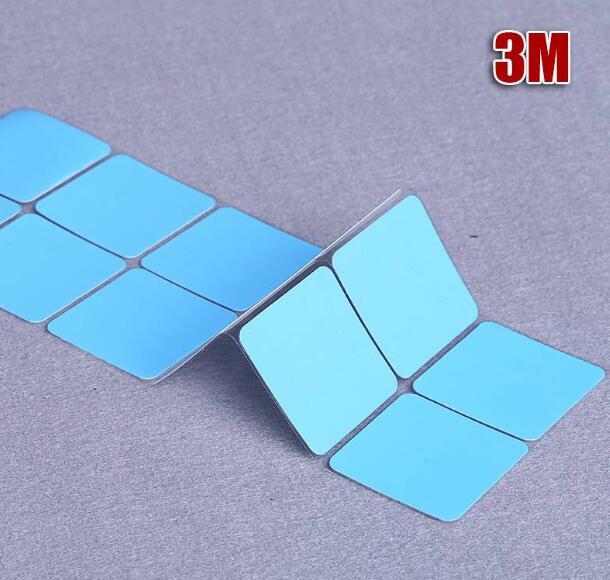 Envío Gratis 15 Uds 3M 8810 de alto rendimiento 25x25mm térmica adhesiva cintas de transferencia