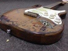 Rory Gallagher Signature Relic электрогитара 100% ручная работа Олдер корпус