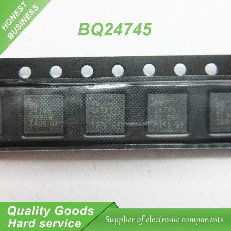 2 unids/lote BQ24745RHDR BQ24745TI BQ24745 QFN portátil chip original nuevo