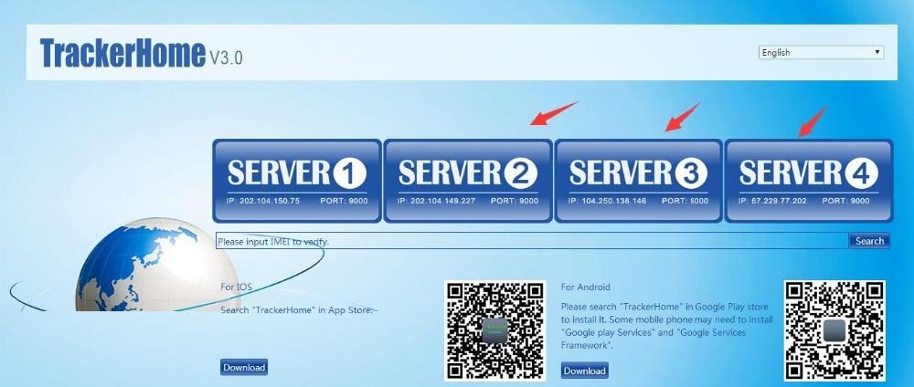 Rastreador GPS de coche IMEI activo Web Tarifa de Servicio para gpstrackerxy.com TK102B Coban TK103A TK103B TK103A + B + TK105A/B/TrackerHome App