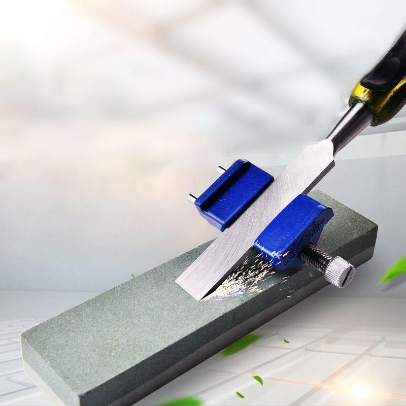 Guide porte-Angle fixe Hone pour affûter laffûteuse ciseaux à bois et lames de fer rabot raboteuses aiguiseur de couteau
