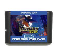 Pato Darkwing Idioma Ruso 16 bit tarjeta de juego MD para Sega Mega Drive para Génesis