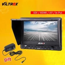 Viltrox DC-70 EX 7 4 K HD HDMI/SDI/AV entrée sortie caméra vidéo écran LCD + adaptateur secteur pour Canon Nikon Pentax Olympus