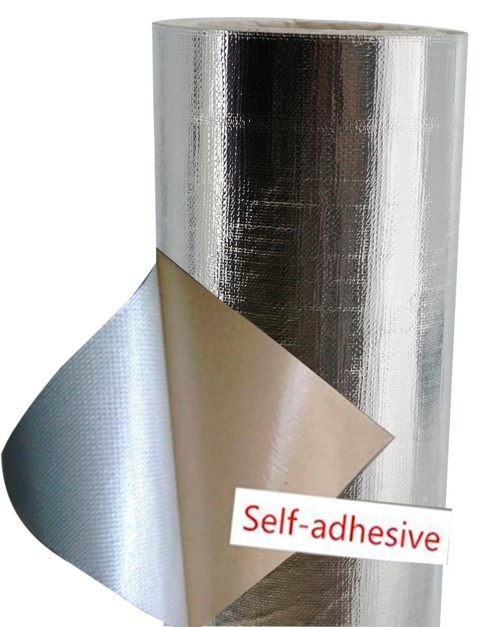 Fiberglass Cloth Insulation Self adhesive Aluminum Fiberglass Heat Shield Protection insulation exhaust