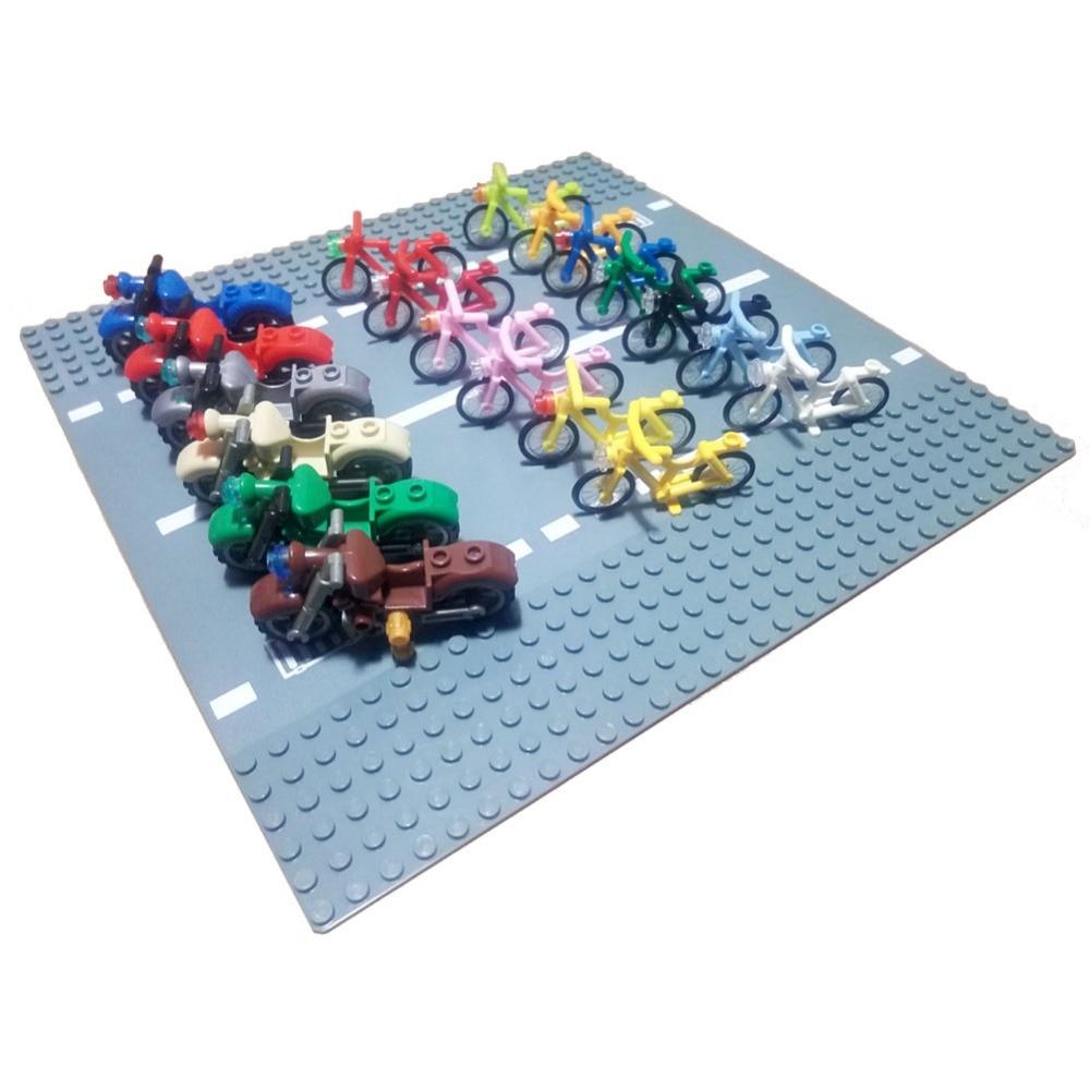 4719 bicycle 50860 motorcycle dirt bike accessory bricklink DIY building block brick assemble brickset
