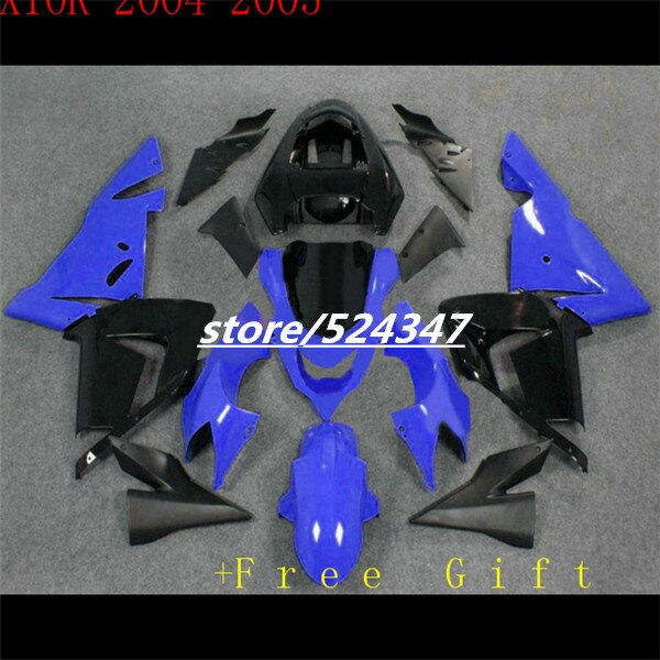 04-05 para KAWASAKI NINJA Rosa Negro ZX 10R 10 2004 R 2005 C19186 ZX-10R 04 05 ZX10R Nuevo 2004 azul 2005 Kit de carenado para Ninja-Hola