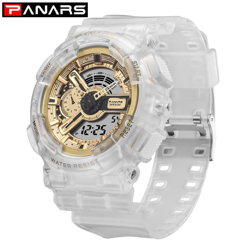 PANARS G style Shock Military Watch Men's Digital Watch 2019 Outdoor Multi-function Waterproof Sports Watch Relojes Hombre