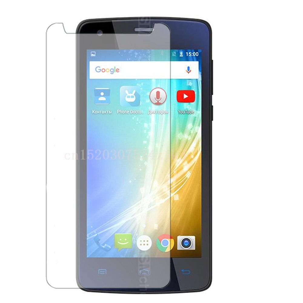 Закаленное стекло Премиум Защитная крышка для экрана Защитный чехол для teXet 4513 5513 5017 5005 5003 X-Selfie omega force