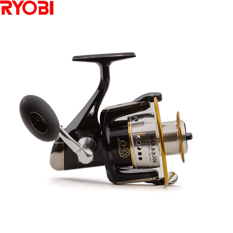 RYOBI Warrior/ECUSIMA Spinning Reel 7BB/5.0:1 Fishing Reel Carretes Para Pesca Lure Reels Carretilha Moulinet Peche Fishing Whee