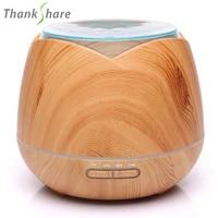 Humidificateur dair ultrasonique  diffuseur dhuile essentielle  brumisateur  7 couleurs de 400  aromatherapie pour la maison