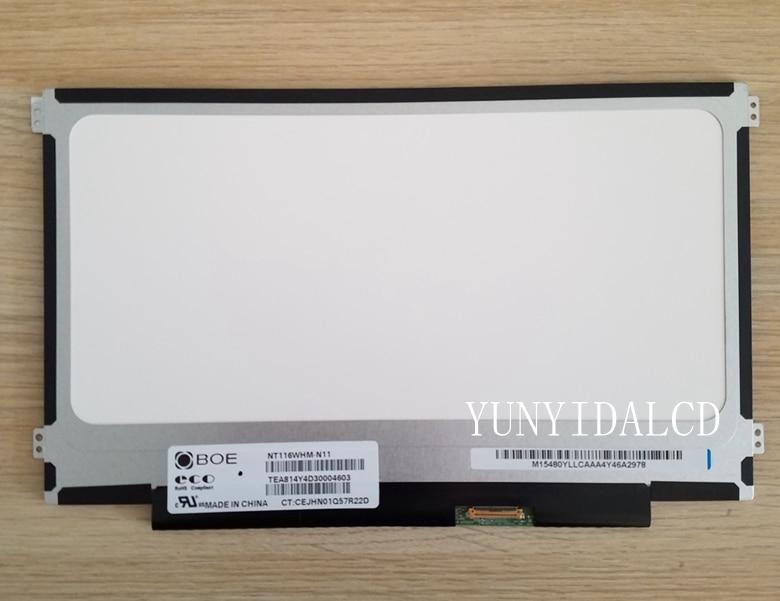 ل بنك انجلترا شاشة LED 30Pin EDP NT116WHM-N11 NT116WHM N11 NT116WHM-N21 V4.0 N116BGE-EA2 M116NWR1 R7 شاشة LED شاشة عرض LCD