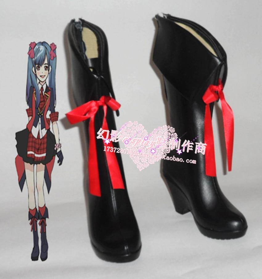 AKB0048 Watanabe Mayu Halloween niñas Cosplay zapatos H016