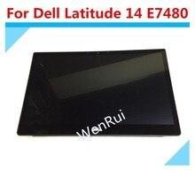 "14.0 ""für Dell Latitude 7480 E7480 2560x1440 LED LCD Display Touch Screen"