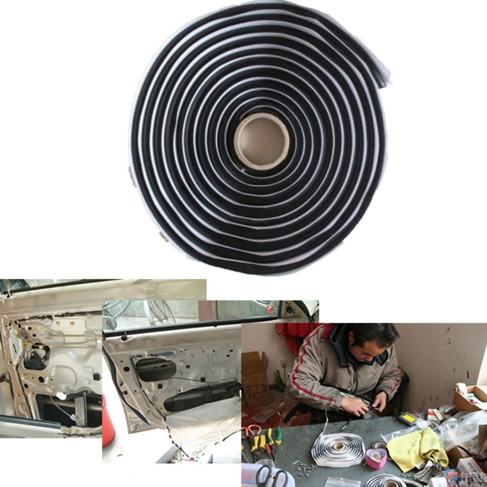 Chunmu Rubber 4m Soundproof Dustproof Sealing Strip For Auto Car Dashboard Windshield Car headlight sealant waterproof glue
