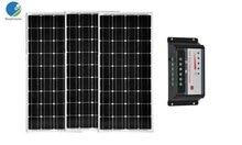 Solar Kit PV Panel 12v 100w 3Pcs Zonnepaneel 300W 36V Solar Charge Controller 12v/24v 30A Caravan Verlichting Boat Led