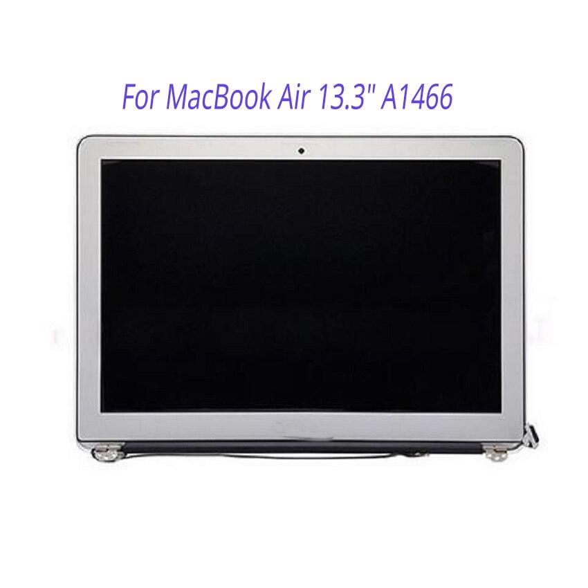 Novo para apple macbook ar 13.3 a1466 tela lcd assembléia completa 2013 2014 2015 ano md760 mjve2 mqd32