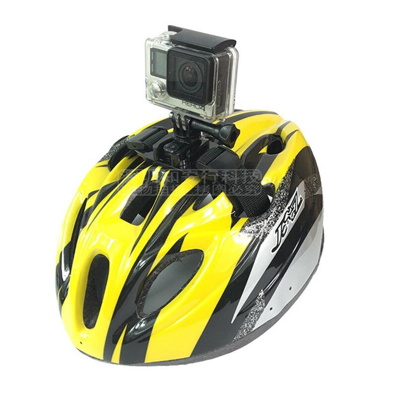 Ремни для велосипедного шлема, жесткие головные уборы, крепление для Gopro Hero 8 7 6 5 4 Xiaomi yi 4K SJCAM SJ4000 SJ5000 EKEN, аксессуары для спортивной камеры
