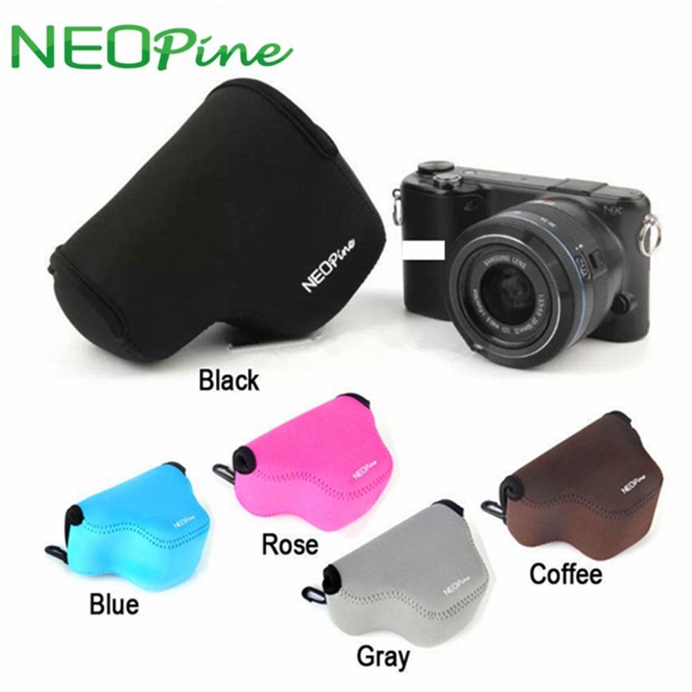 [해외] 카메라 케이스 가방, 삼성 NX3000 NX2000 NX1000 20-50mm 렌즈 소프트 네오프렌 렌즈 보호 내부 파우치