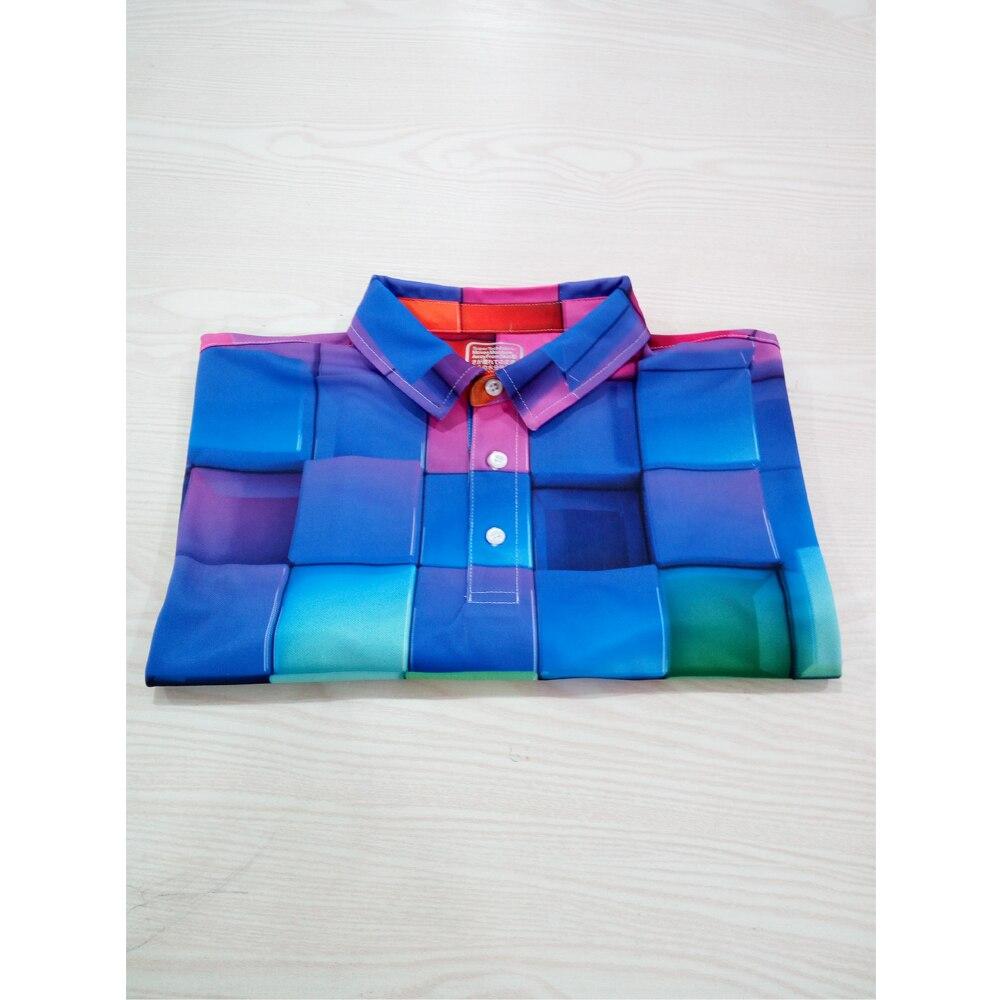 FORUDESIGNS/Новое поступление, рубашка на заказ, Мужская Персонализированная рубашка, летняя рубашка с коротким рукавом и 3D принтом, XS-XXXL