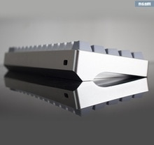 Mechanial 키보드 양극 알루미늄 케이스 gh60 부지깽이 60 기계적인 키보드 포탄