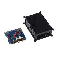 Raspberry Pi 3 HIFI DAC PiFi Audio Geluidskaart Module I2S Interface Board + Acryl Case voor Raspberry Pi 3 model B 3B Plus