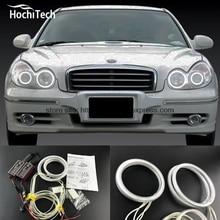 HochiTech Excellent CCFL Angel Eyes Kit Ultra bright headlight illumination for Hyundai Sonata 2002 2003 2004 2005