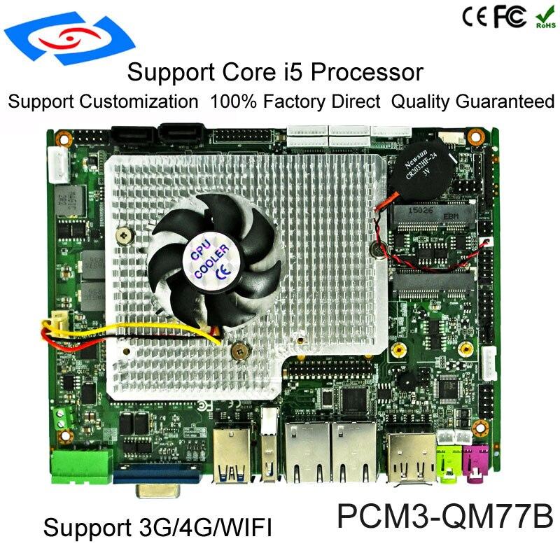 La mejor placa base de memoria integrada Intel i5-2430M Industrial integrada con función táctil para placa principal de PC de tableta