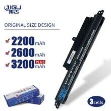 JIGU 3 células A31LM2H A31LM9H A31LMH2 A31N1302 A3INI302 batería de portátil para Asus para VivoBook F200CA F200M FX200CA X200CA