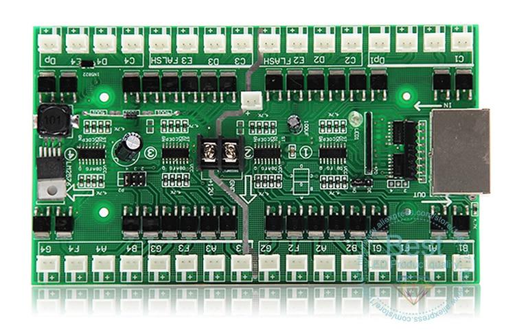 Tarjeta de controlador, tarjeta de Número digital led, cuatro Uds. Números, tarjeta de controlador utilizada para Estación de aceite, alta potencia, adecuada para 18 pulgadas o más