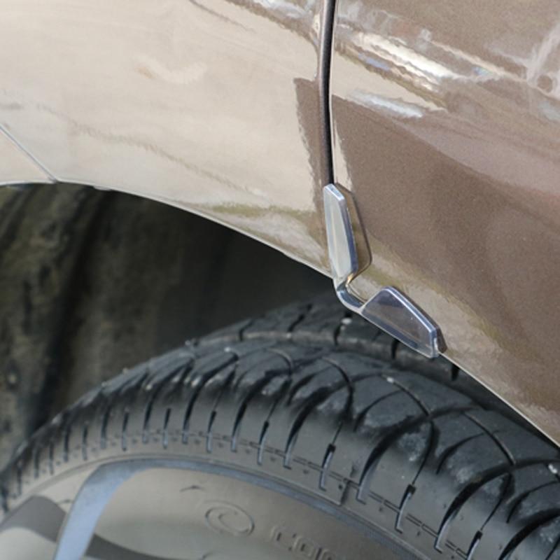 4 pieces / set of door scraping door side bumper protection for Mitsubishi ASX/Outlander/Lancer Evolution/Pajero/Eclipse/Grandis