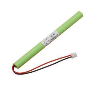 Envío gratis 3-AAA 3,6 V 800 mAh lámpara de luz de emergencia recargable batería de tubo de salida segura