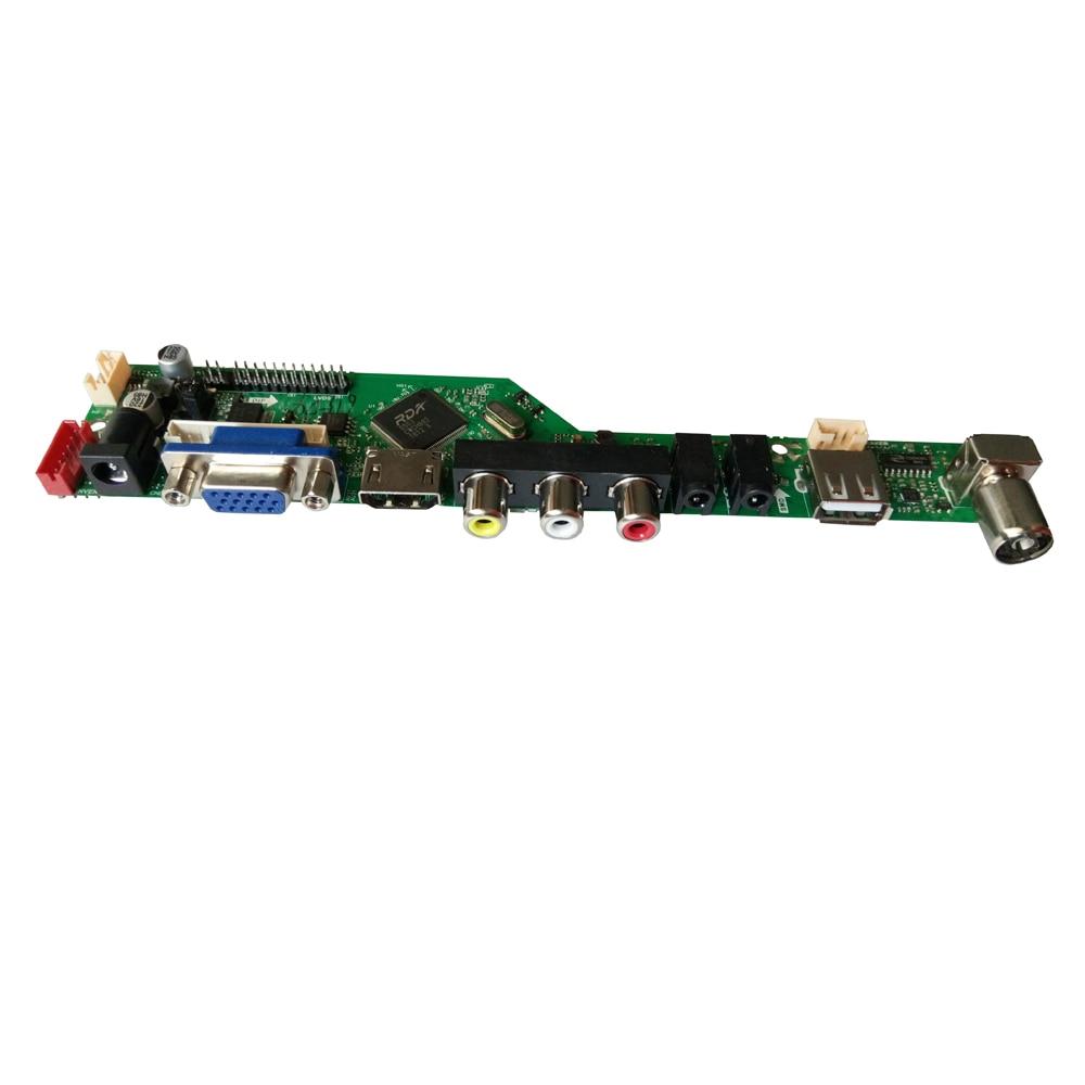 T.V56.031 New Universal HDMI USB AV VGA ATV PC LCD Controller Board for 15.4inch 1280x800 TX39D80VC1GAA 2CCFL LVDS Monitor Kit