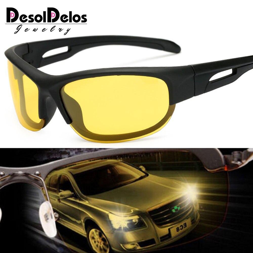 2019 Hot Sale Car Drivers Night Vision Goggles Anti-glare Polarizer Sunglasses Men Driving Sun Glasses Male Accessories