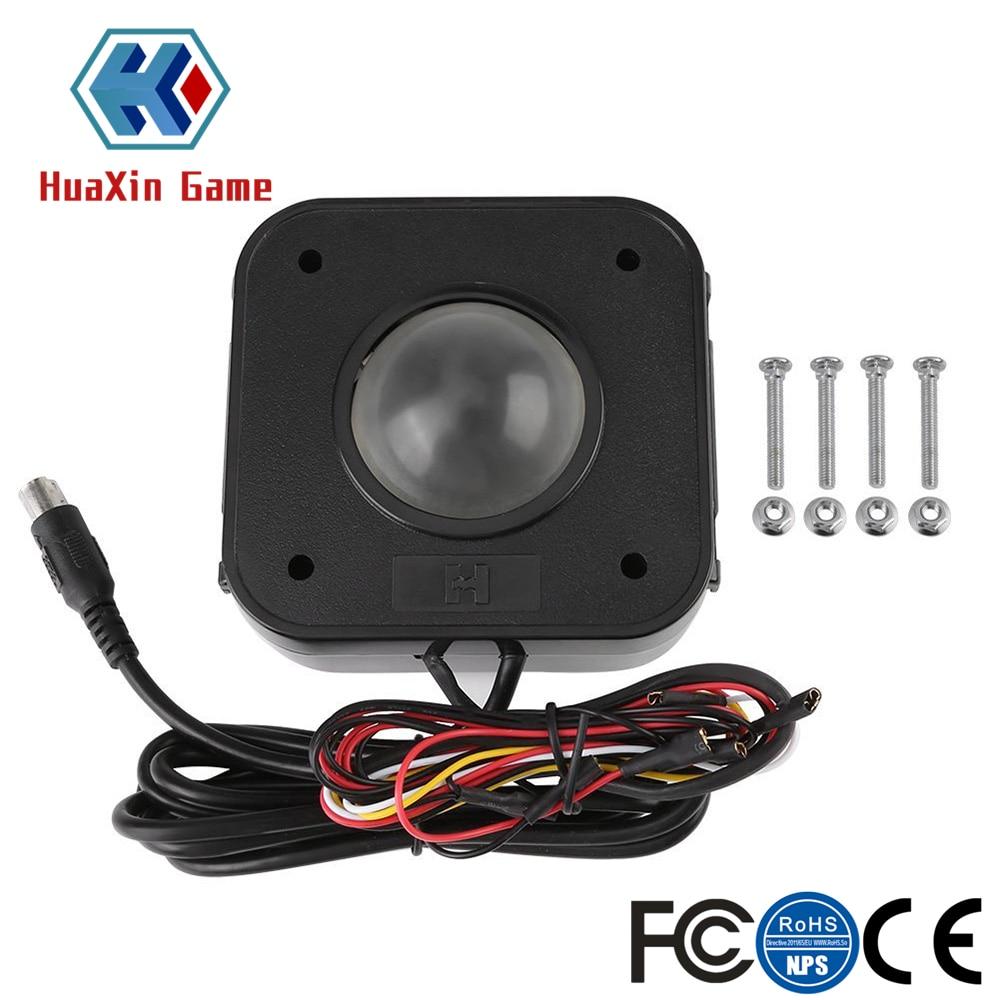 Освещенная 4,5 см круглая LED Trackball мышь PS/2 PCB разъем для аркады